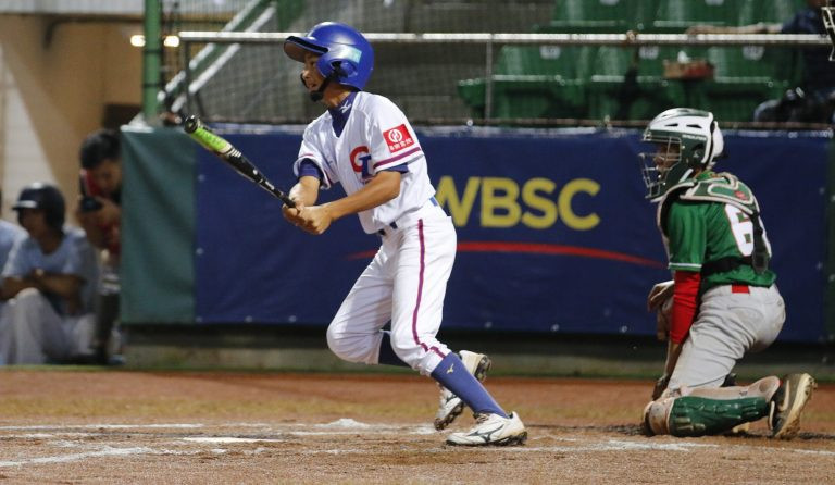 Hosts Chinese Taipei comfortably defeated Mexico today to edge closer to booking their place in the final of the WBSC Under-12 Baseball World Cup in Taiwan ©WBSC