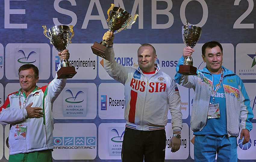 Russia seal place at top of World Sambo Championship medal standings with five more golds on final day