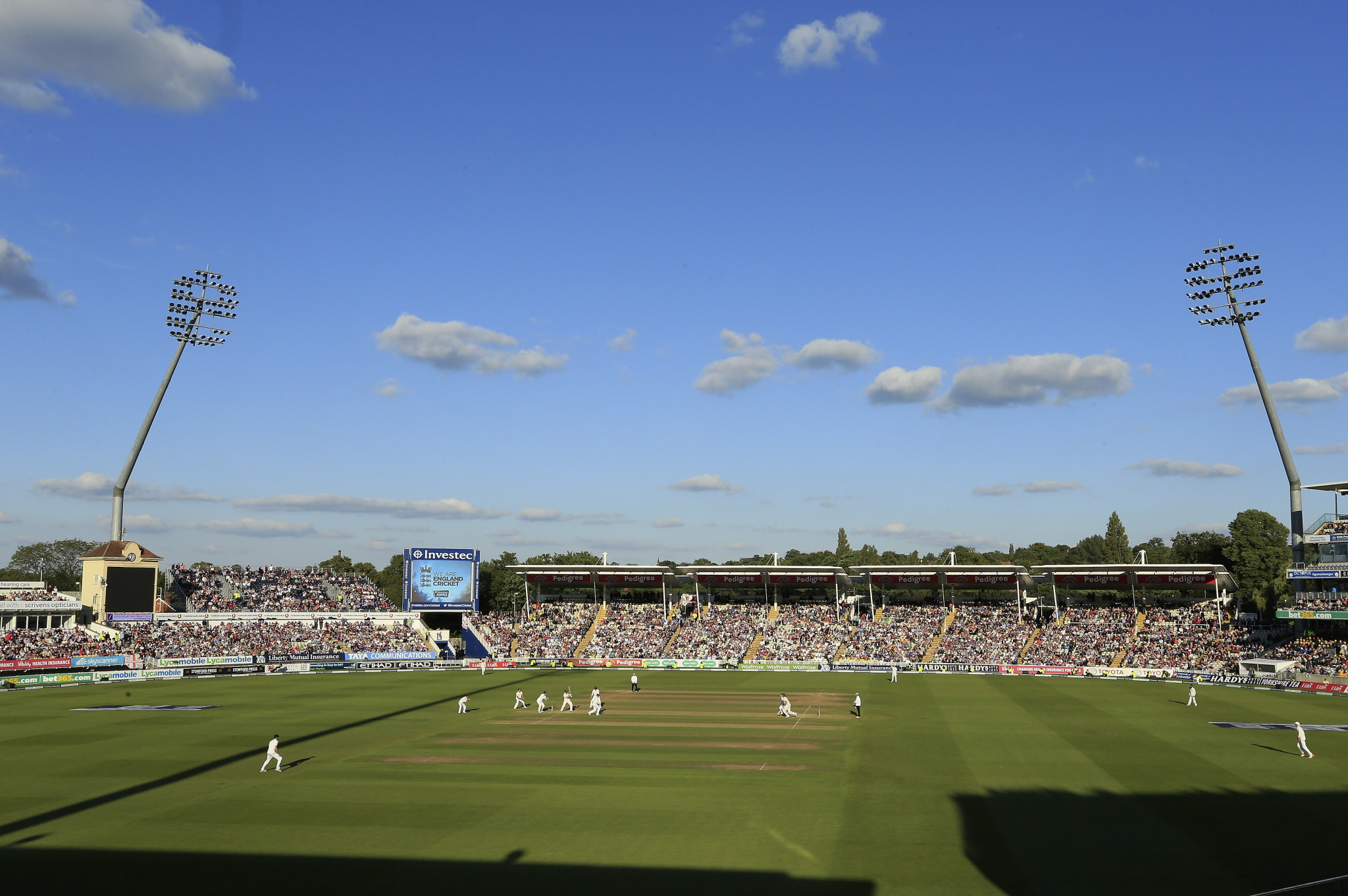 The Ashes series between England and Australia began at Edgbaston in Birmingham this week ©Getty Images