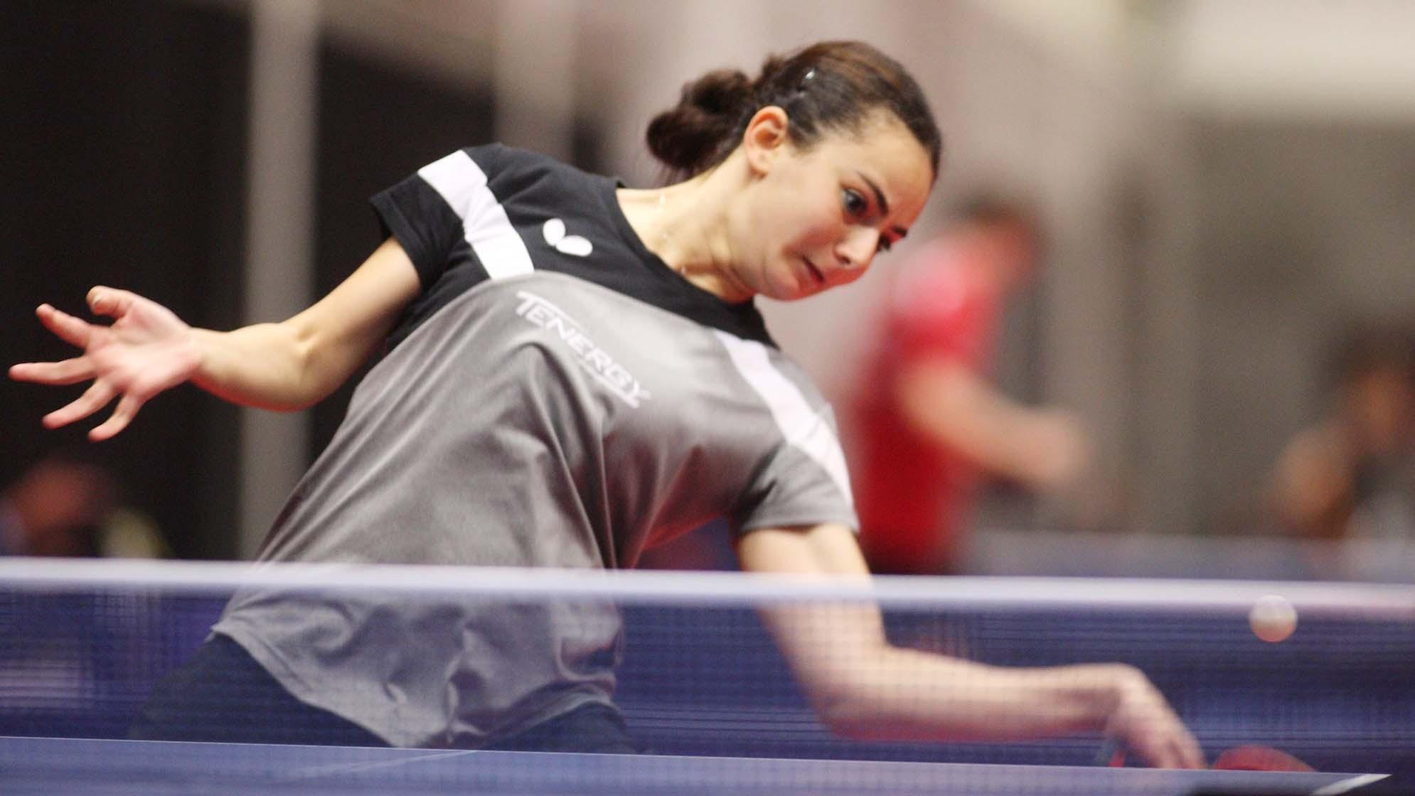 Egypt's Dina Meshref is the defending women's singles champion ©Ireneusz Kanabrodzki/ITTF