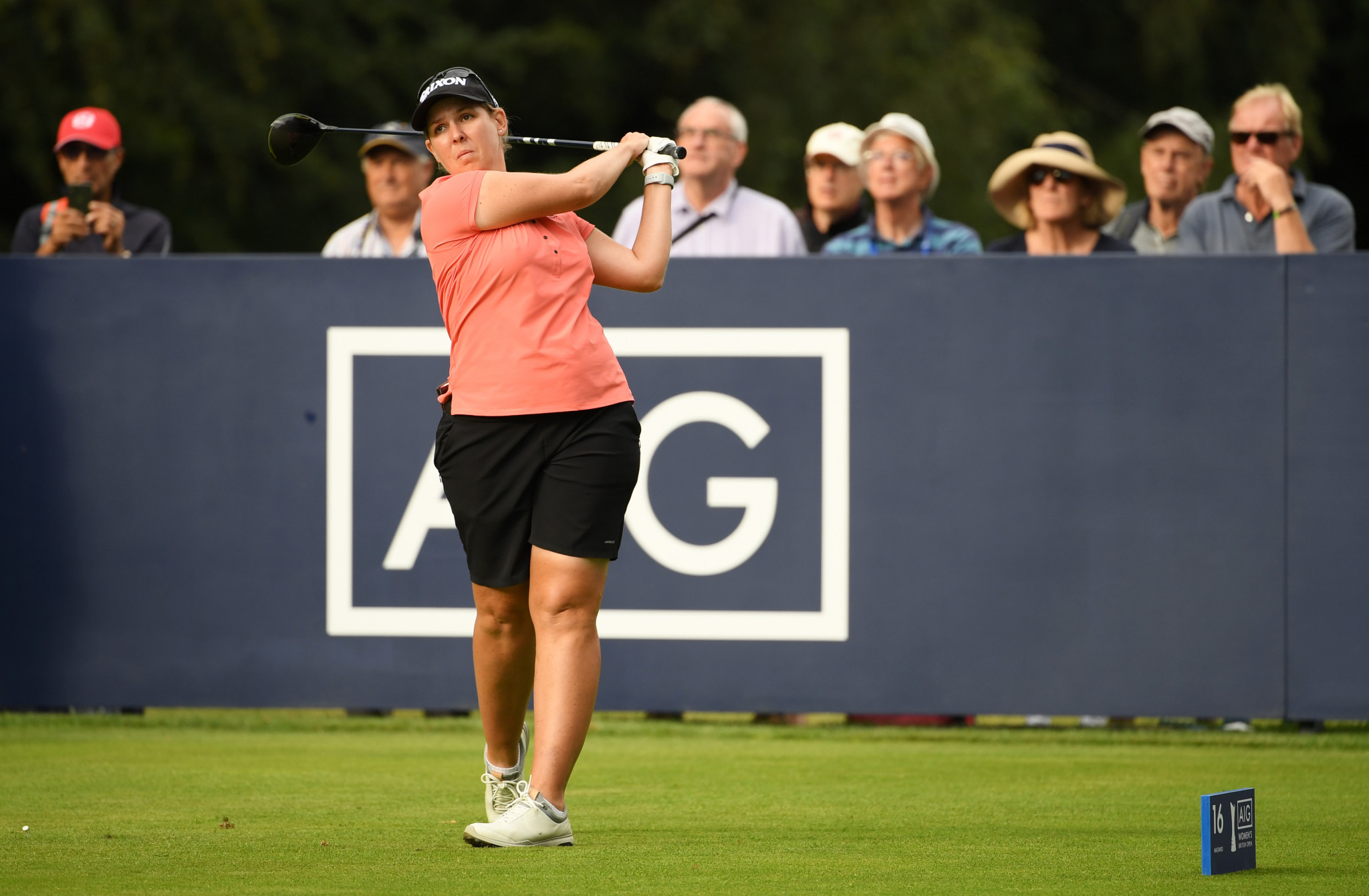 Buhai extends lead at Women's British Open after another strong round