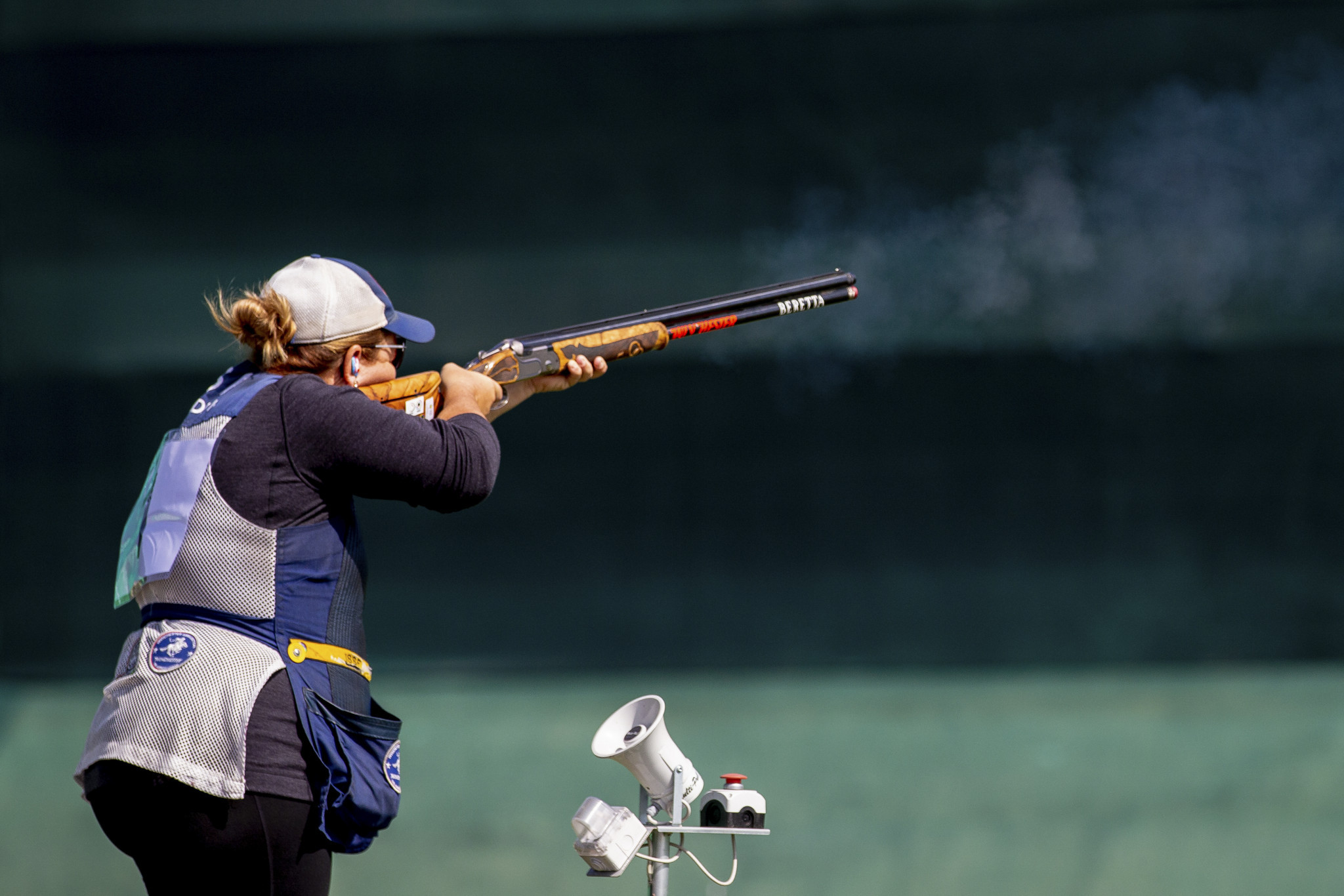 Rhode achieves third Pan American shooting title at Lima 2019