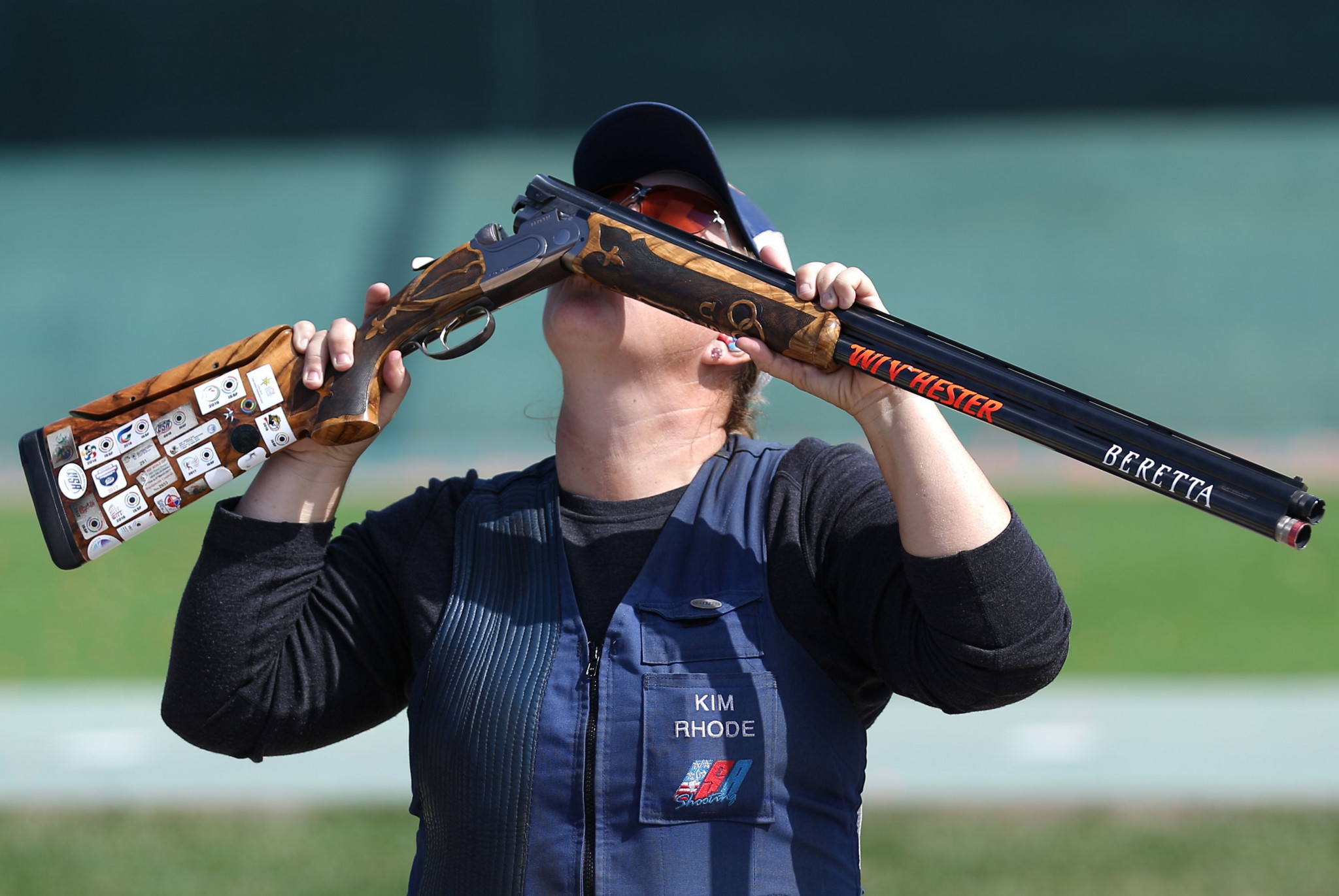 America's Kim Rhode won her third consecutive Pan American Games women's skeet title ©Getty Images