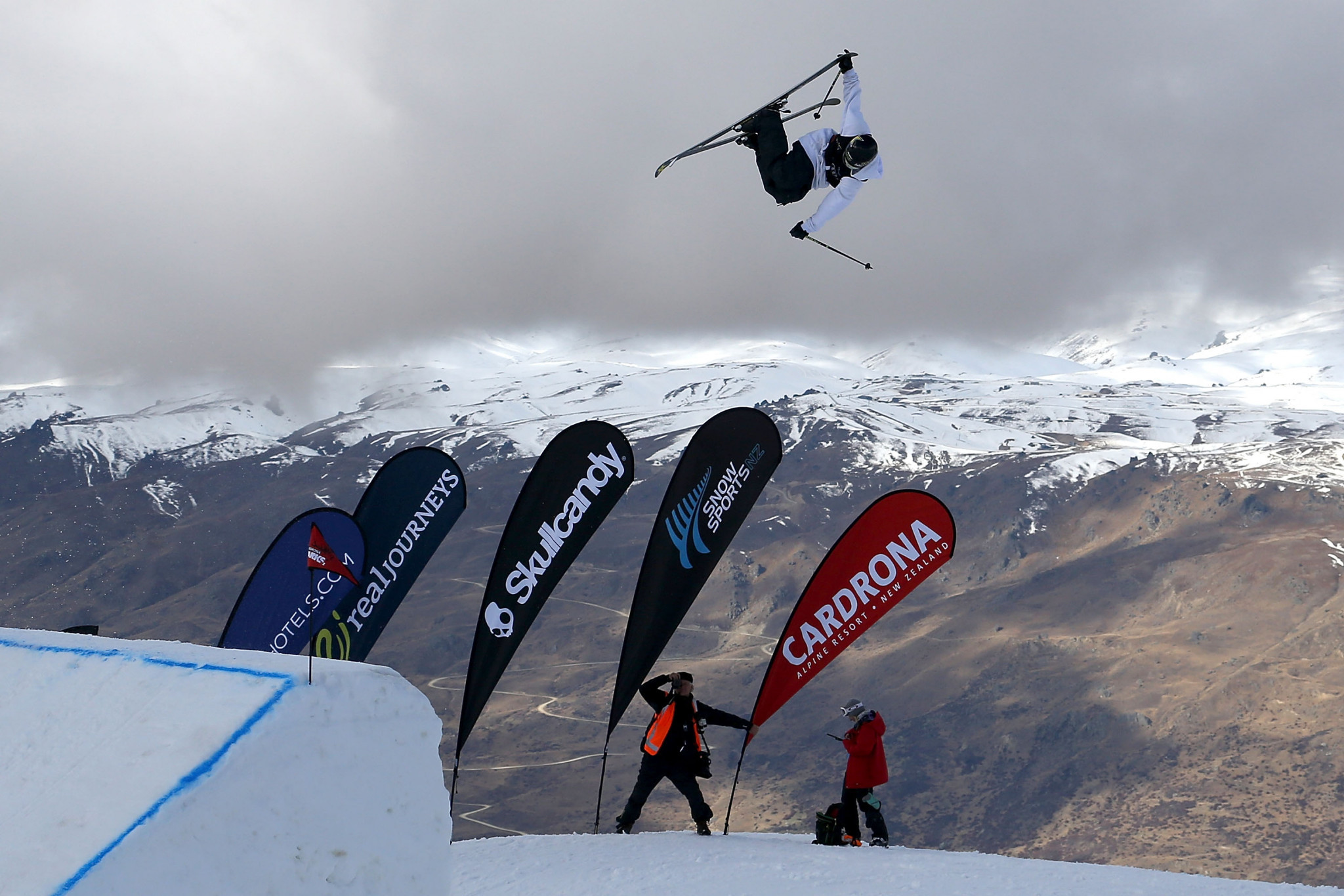 Ryan Wyble's new role as United States freeski team national development coach for slopestyle and big air,will focus on working on the development of rookie team athletes an bringing them through to the pro team level ©Getty Images