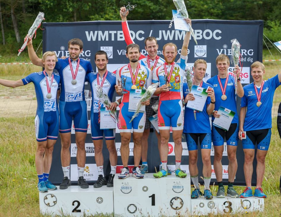 Russia claim relay double at World Mountain Bike Orienteering Championships