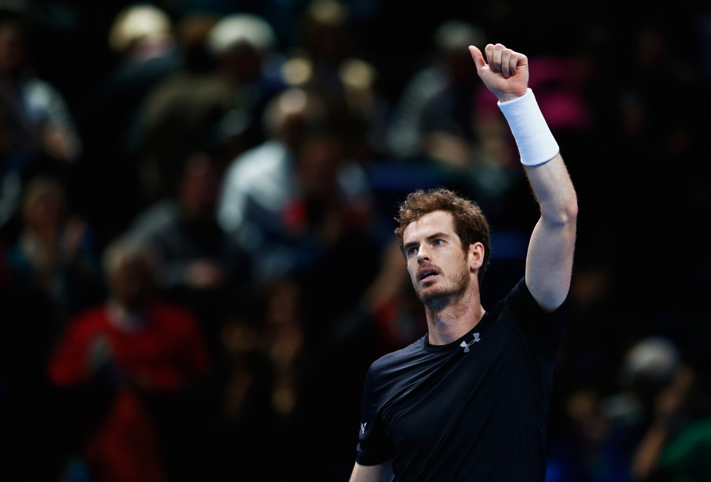 Home favourite Murray claims straight sets triumph over Ferrer at ATP World Tour Finals