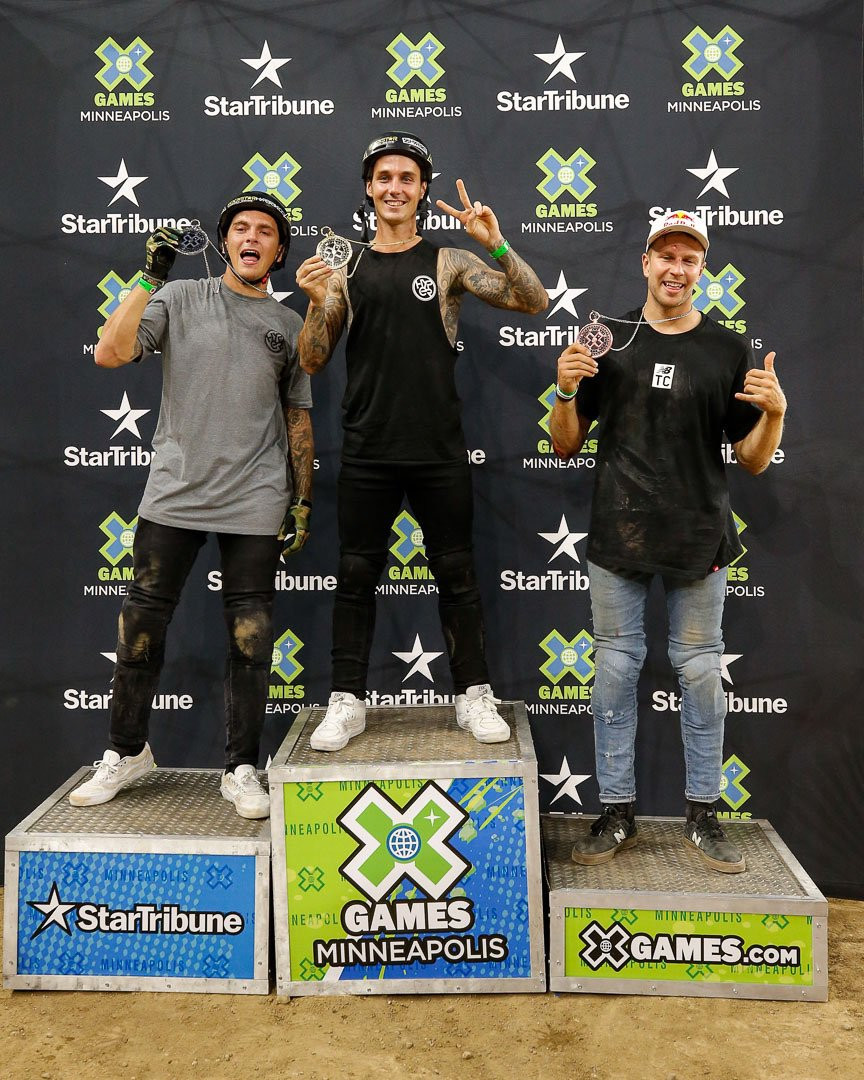 Logan Martin scoops double BMX gold on 2019 Summer X Games day three