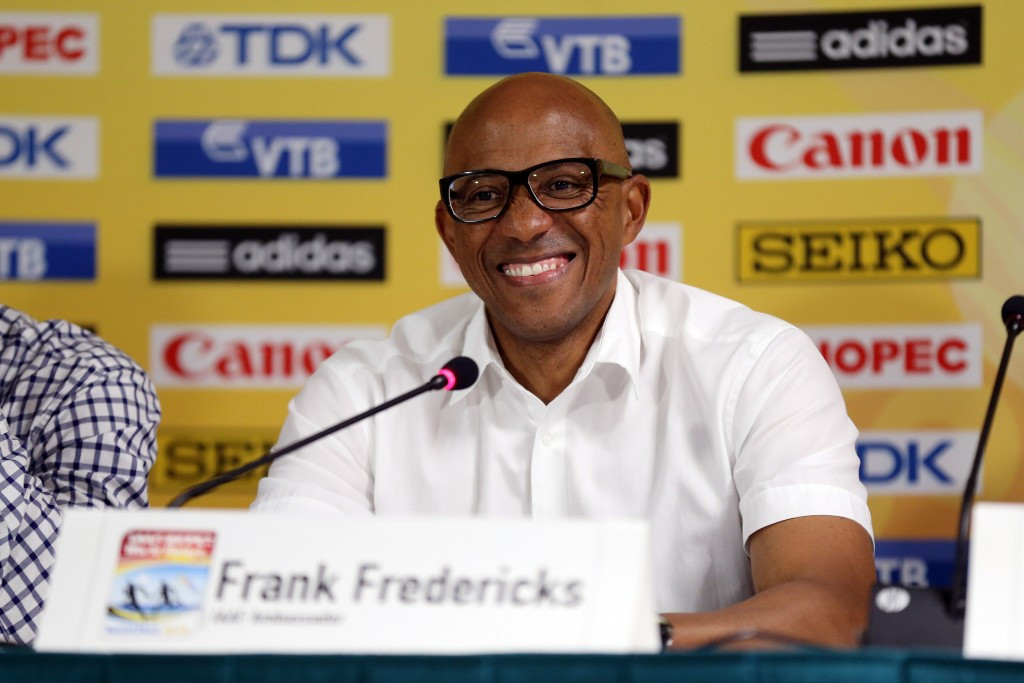 Fredericks among four Council members included in IAAF inspection team overseeing Russian reforms