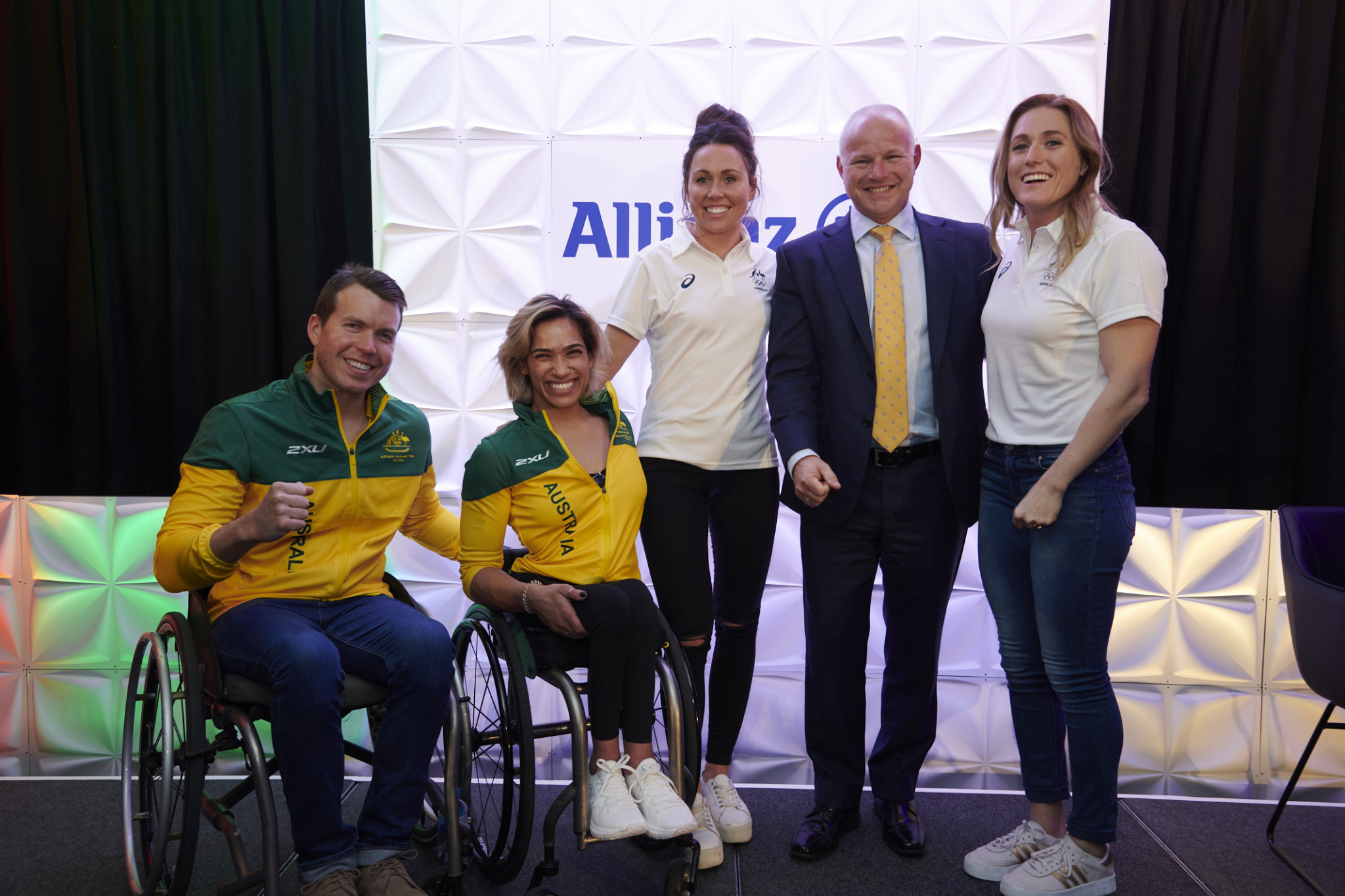"Australia Olympic and Paralympic team hold ""One Year to Tokyo"" events with sponsors Allianz"