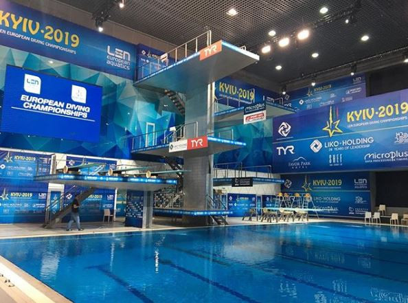 Olympic qualification on line at LEN European Diving Championships in Kiev