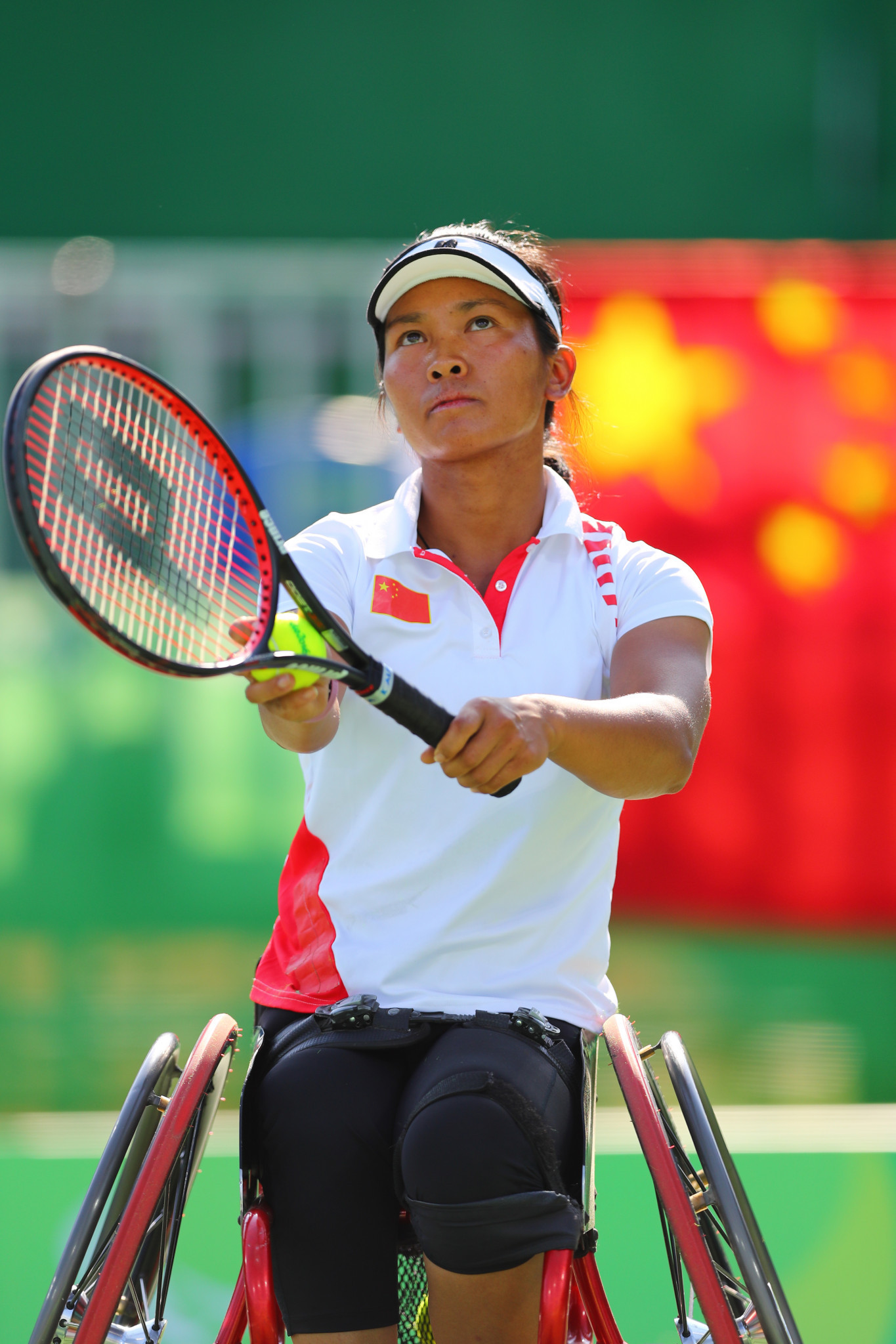 China's Zhenzhen Zhu defeated Dutch player Marjolein Buis to triumph in the Belgian Wheelchair Tennis Open ©Getty Images
