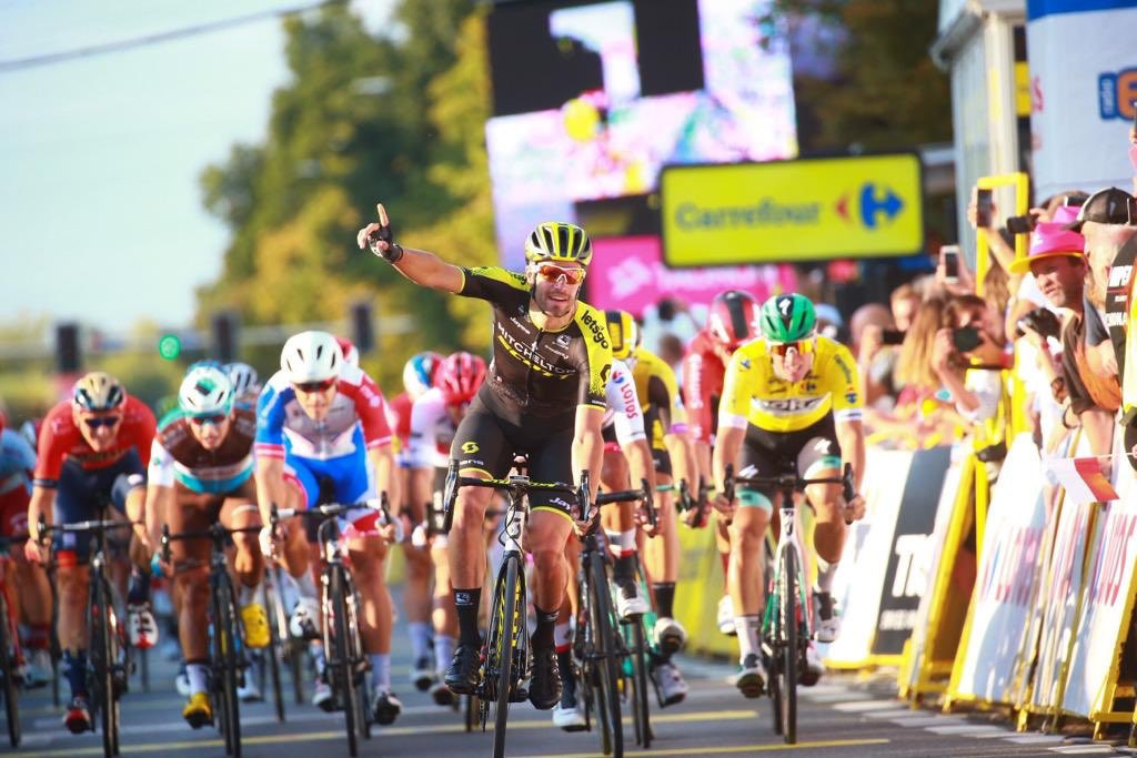 Mezgec takes stunning sprint victory on Tour de Pologne day two as Ackermann maintains overall lead