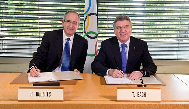 The IOC and NBCUniversal may have to renegotiate how much the broadcaster pays for rights to show the rearranged Tokyo 2020 Games in the US ©Getty Images