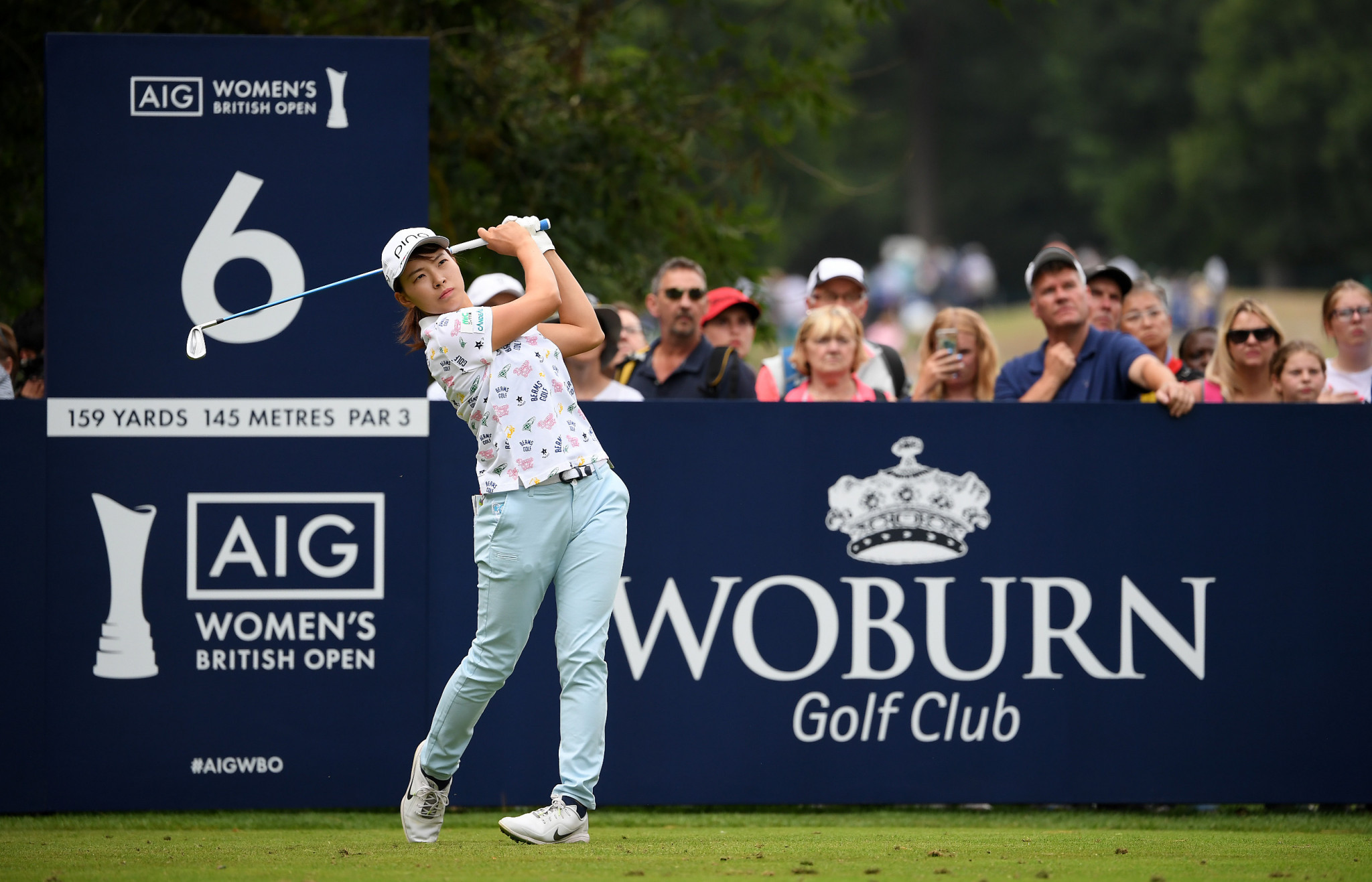 The Japanese rookie carded five birdies on her final nine holes to secure her maiden major title ©Getty Images