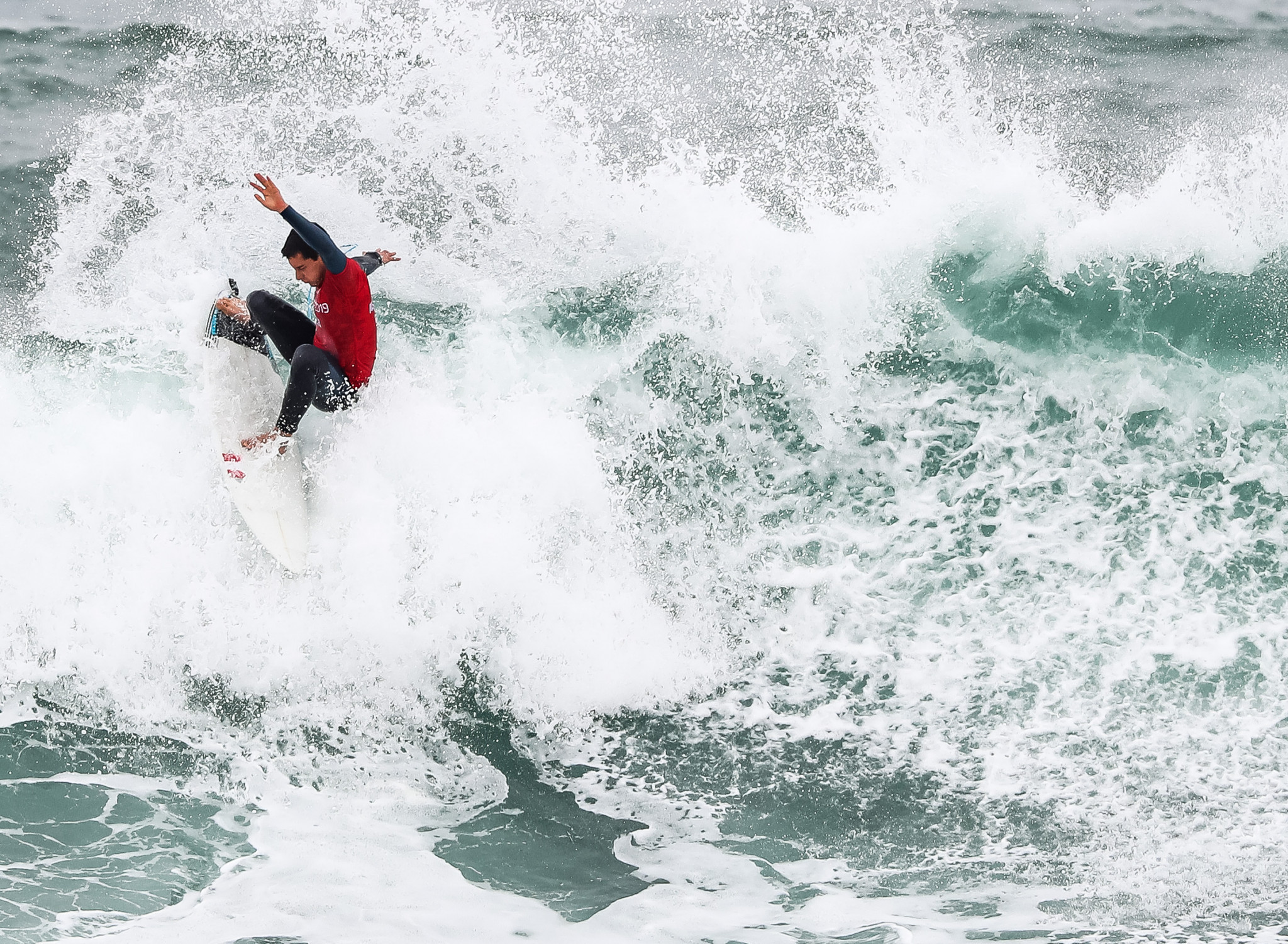 Surfing events have been well attended by Peruvians at Lima 2019 ©Getty Images