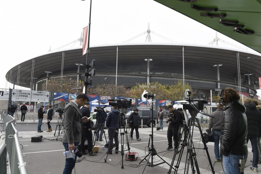 The Stade de France was one of the targets during the terror attacks in Paris