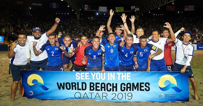 Mexico and El Salvador clinch ANOC World Beach Games beach soccer berths