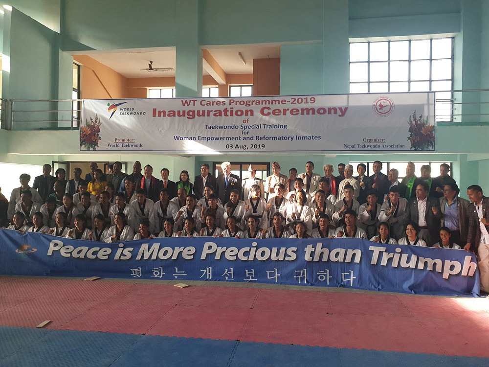 World Taekwondo Cares project launched in Nepal