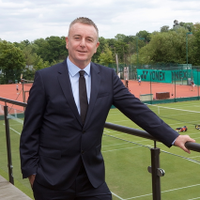 Dave Miley has targeted a more sustainable model for tennis in his campaign ©Twitter/DaveMileyTennis