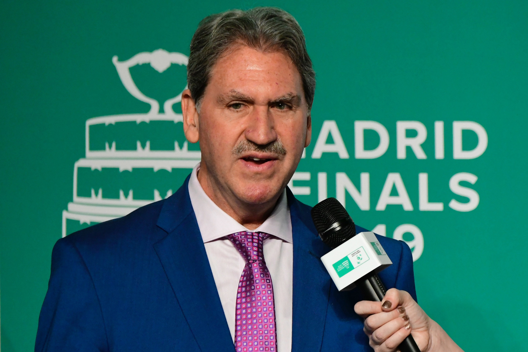 ITF President David Haggerty is aiming to secure a second term ©Getty Images