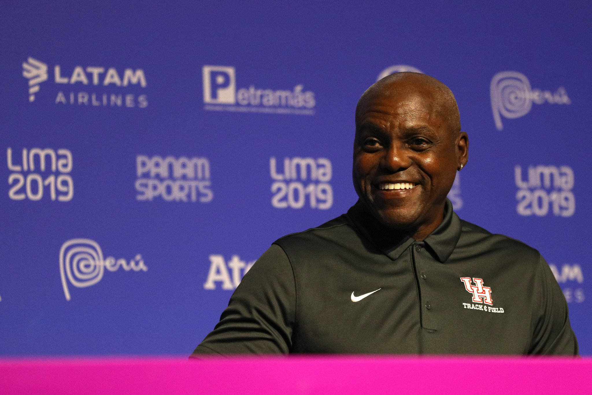 """Carl Lewis expects Pan American Games to have """"profound impact"""" on Peru"""
