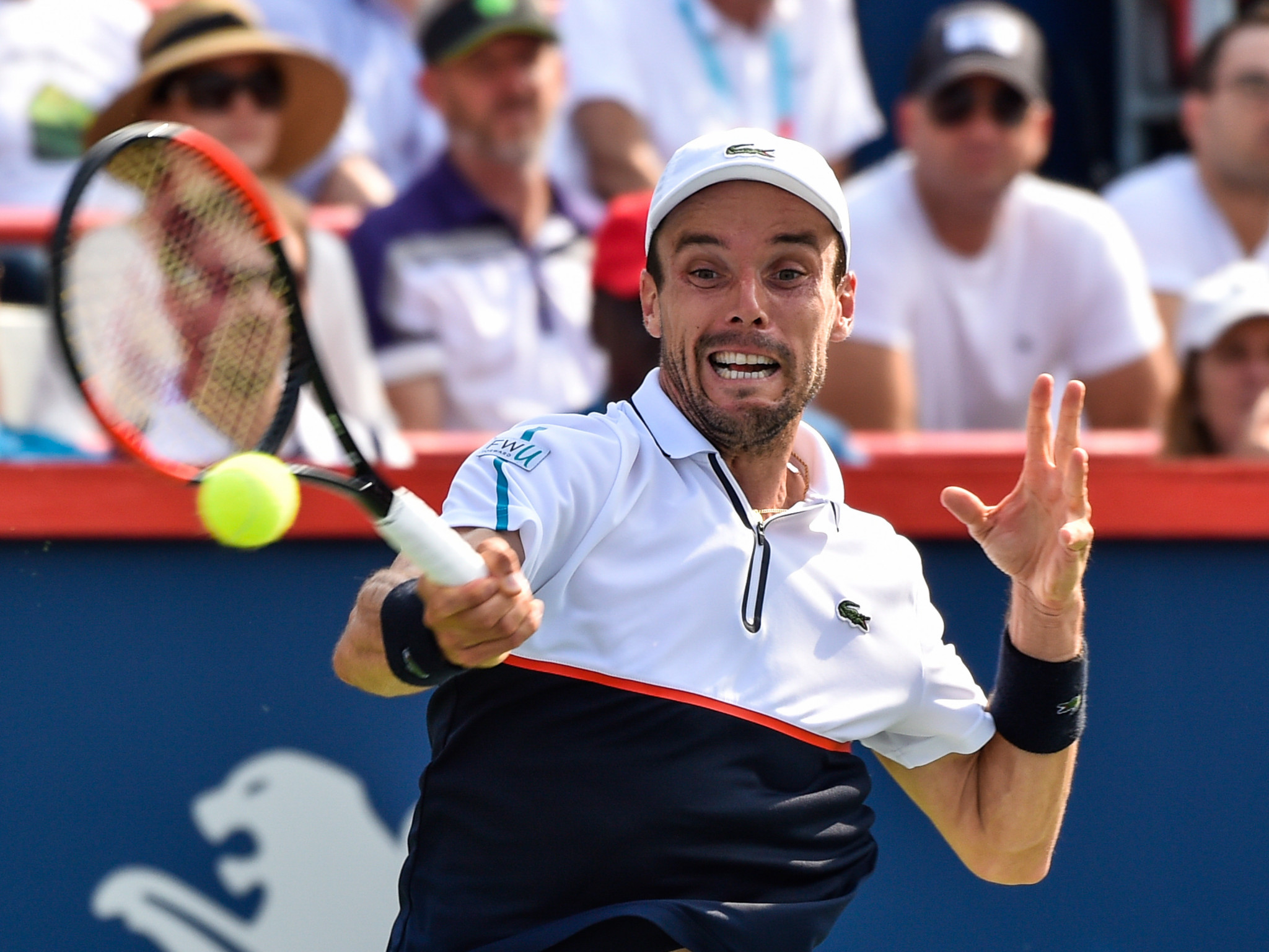 Bautista Agut through to round two at Rogers Cup