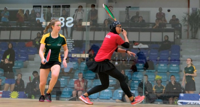 Hosts Malaysia are among the seven countries that booked their place in the women's team quarter-finals at the World Squash Federation Junior Championships in Kuala Lumpur today ©WSF WorldJuniors/Twitter