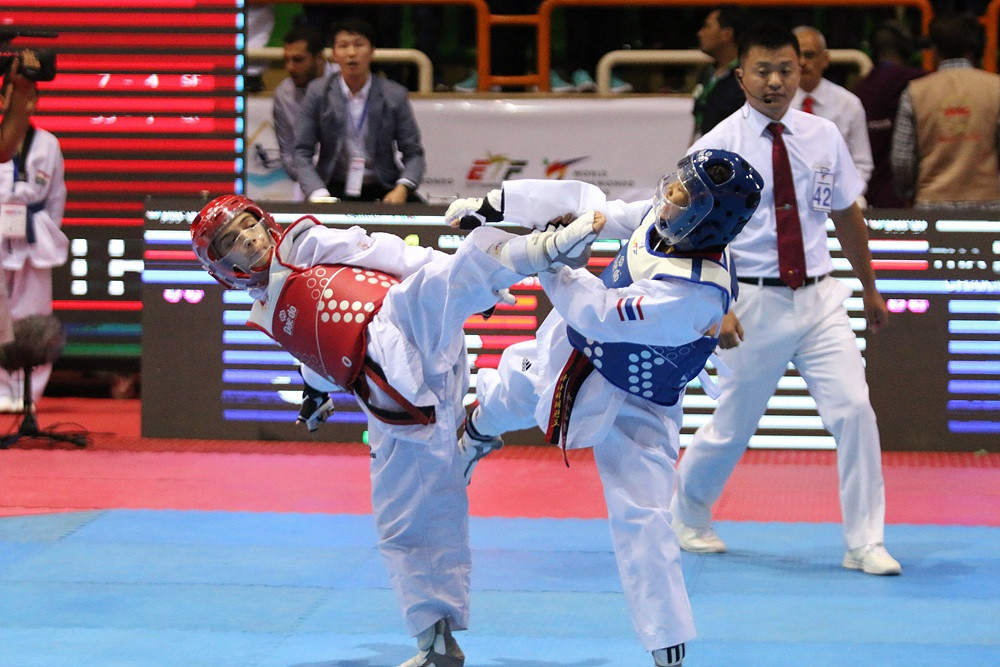 Some 550 athletes, aged from 12 to 14, are gathering to do battle ©World Taekwondo