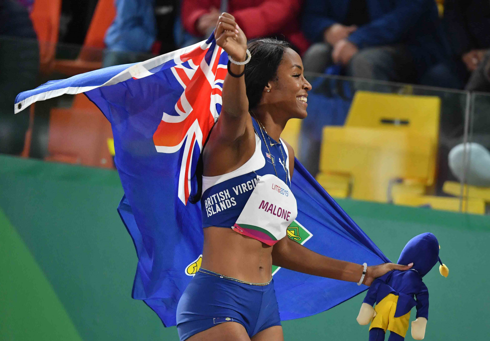 British Virgin Islands secure maiden Pan American Games medal with long jump gold