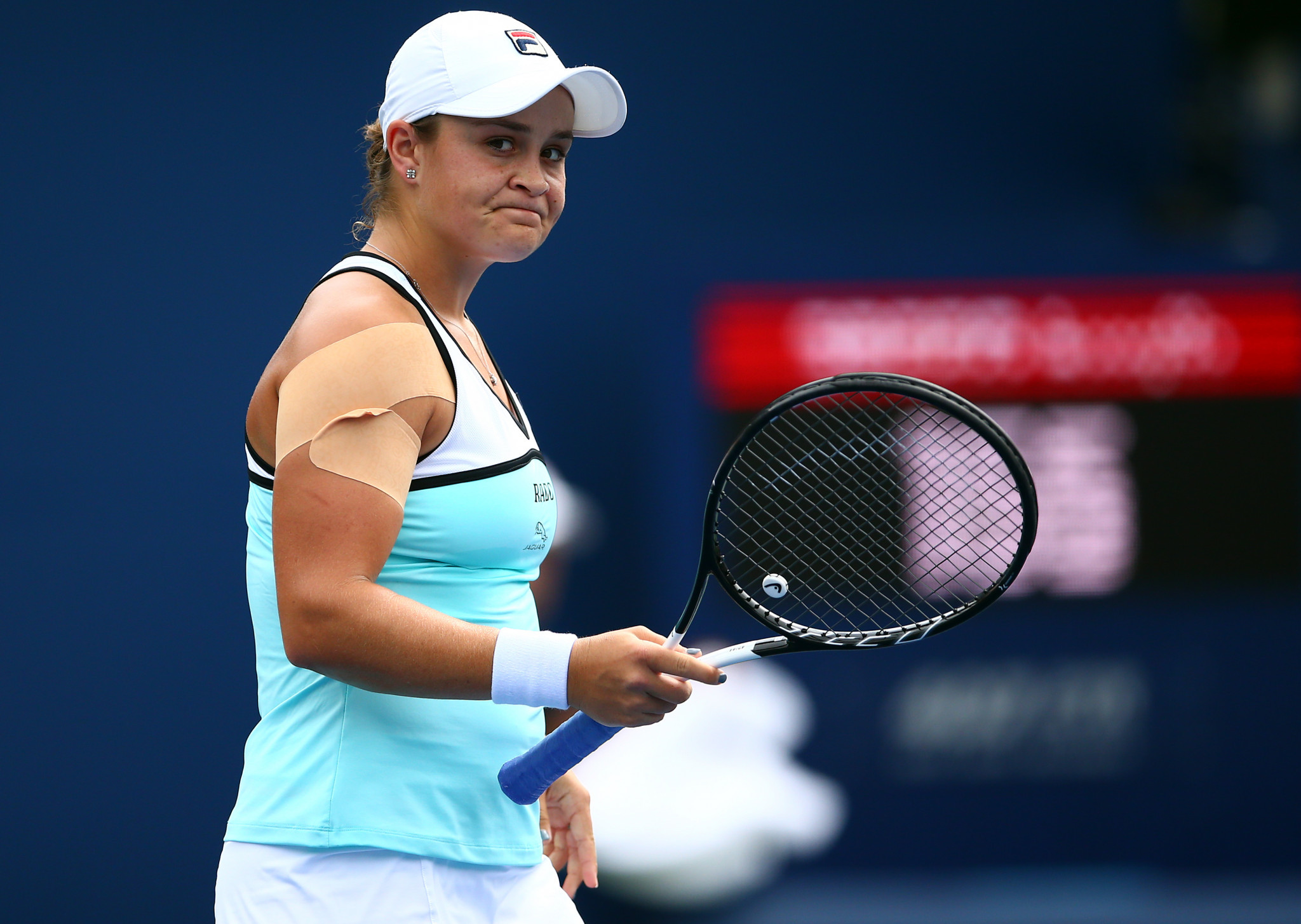 Barty poised to lose world number one ranking after defeat at Rogers Cup