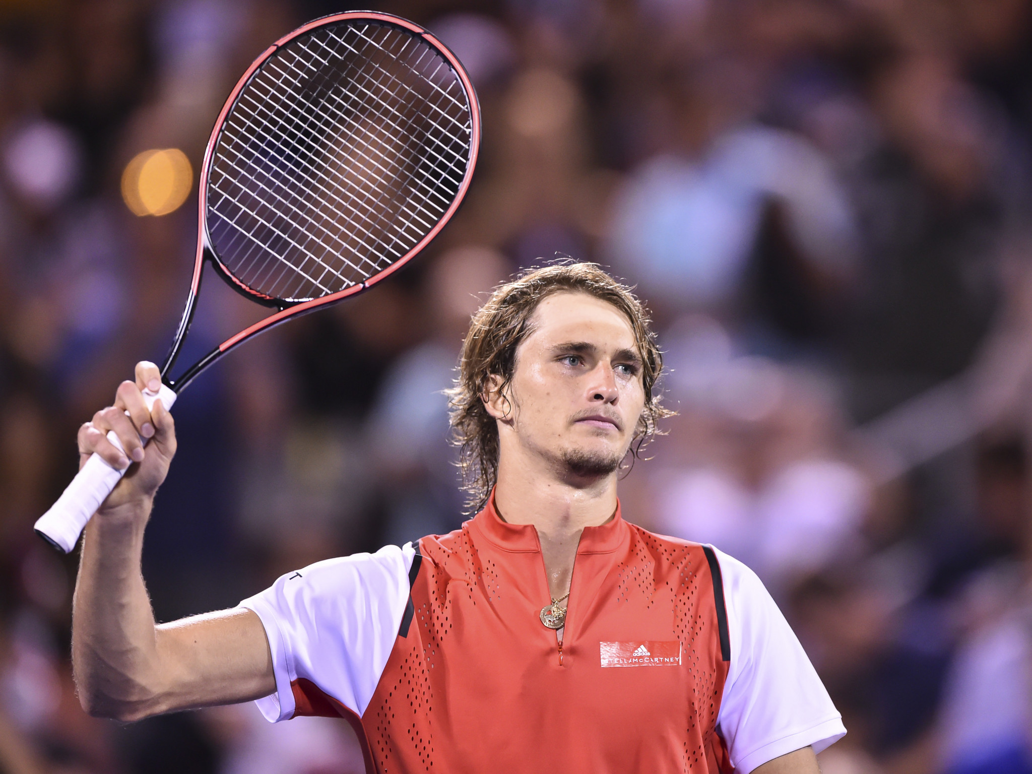 Germany's third seed Alexander Zverev made it through comfortably ©Getty Images