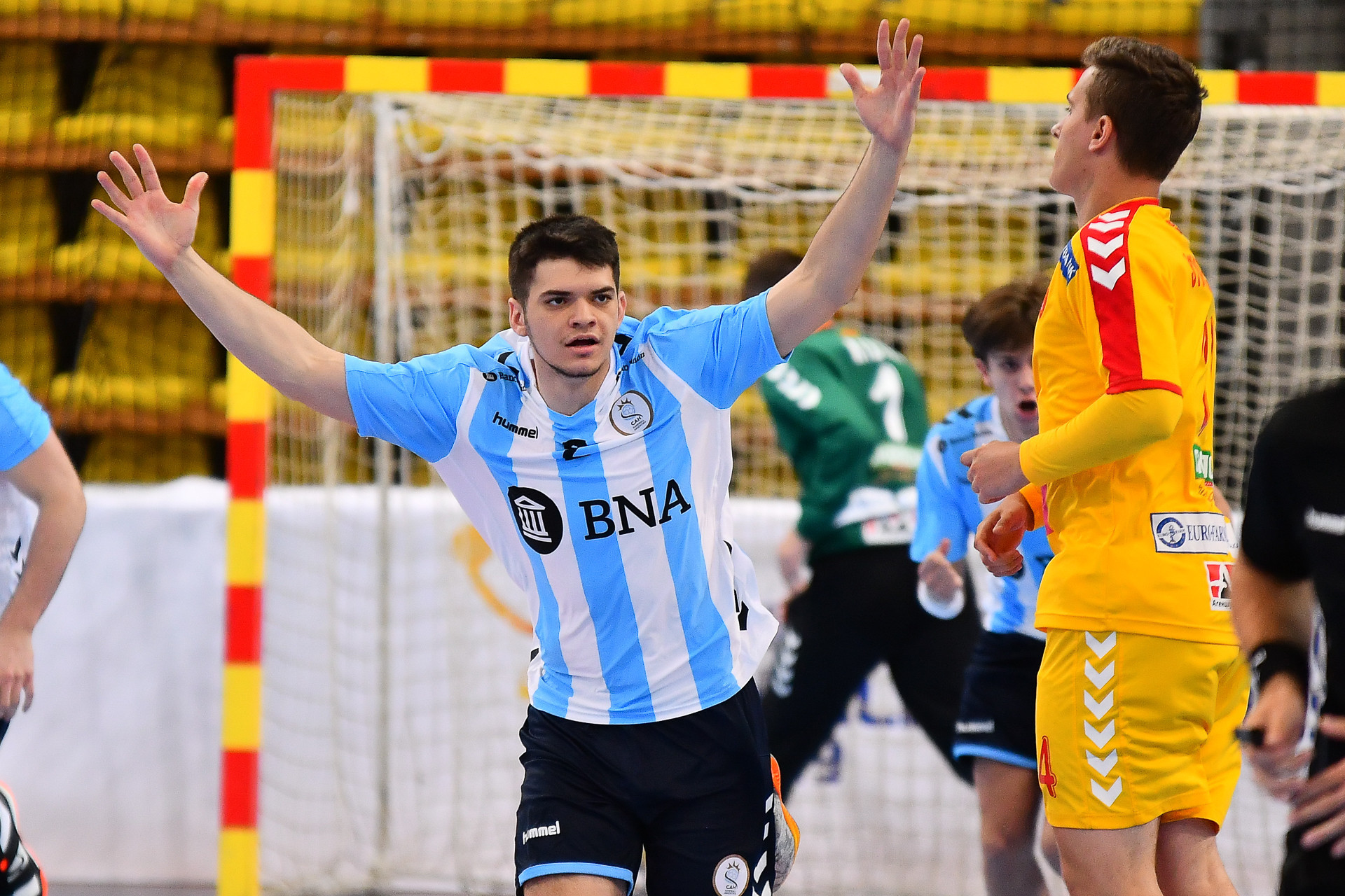 Argentina subjected hosts North Macedonia to a day one defeat ©IHF