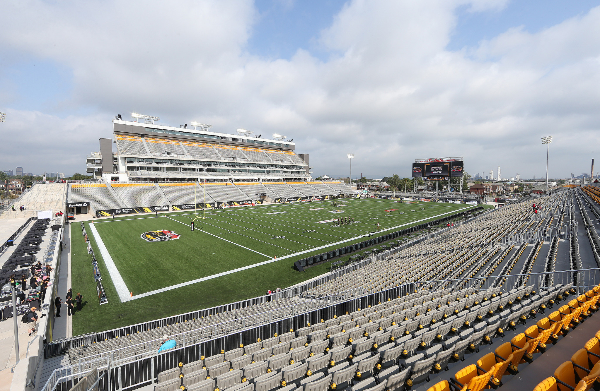 Tim Hortons Field would be a key venue if the Games were awarded to Hamilton ©Getty Images