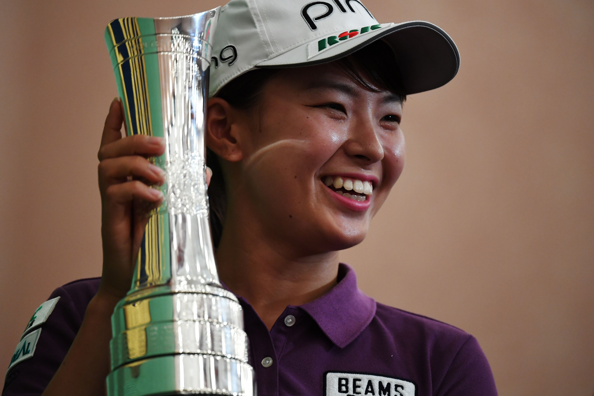 Women's British Open champion Hinako Shibuno says her next goal is to win home gold at the Tokyo 2020 Olympics ©Getty Images