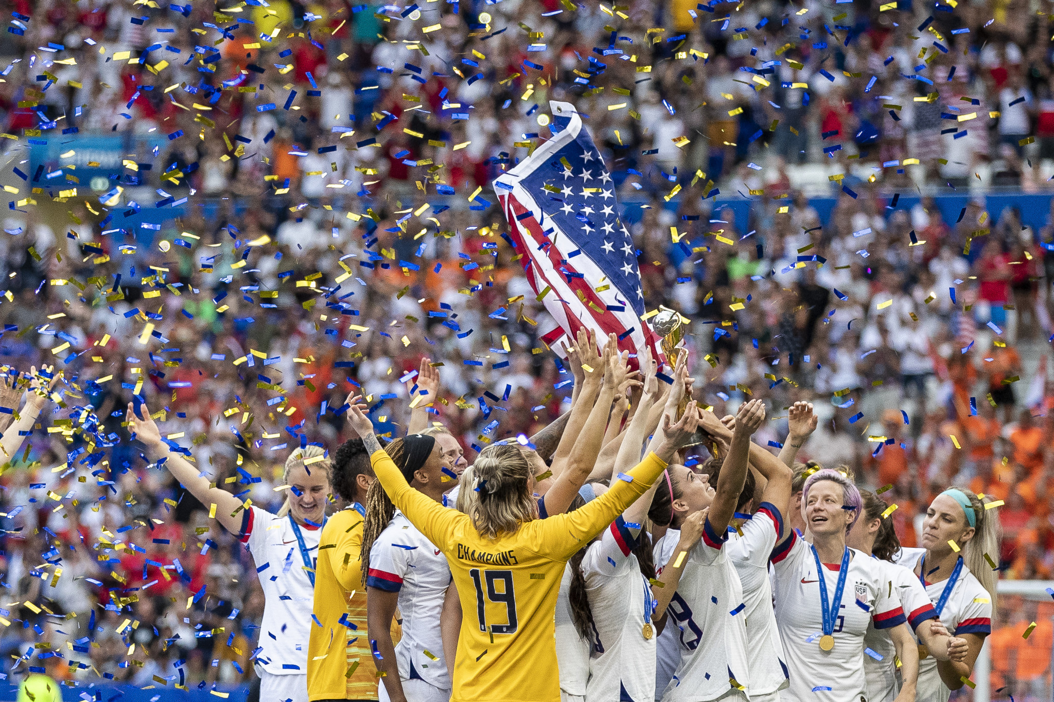 Women's football team, Dressel and Schnell honoured in Team USA awards for July