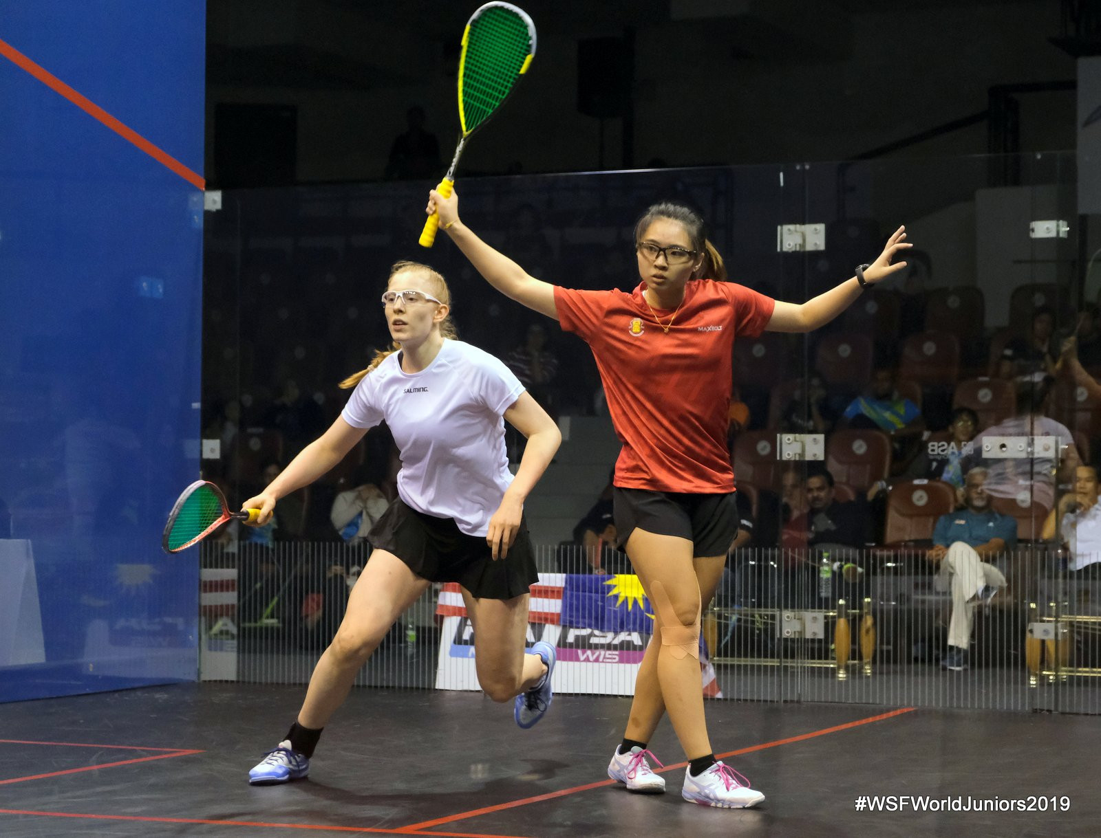 Top four seeds all victorious in World Junior Team Squash Championship quarter-finals