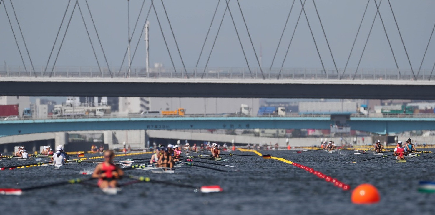 World Rowing Junior Championships and Tokyo 2020 test event begins with heats