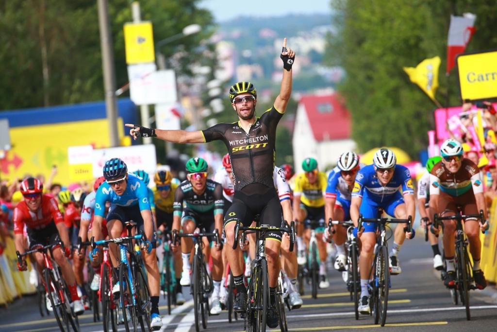 Mezgec sprints to another win on stage five of Tour de Pologne