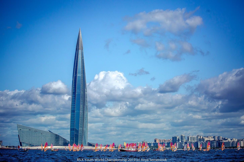 Competition is taking place at Neva Bay in Saint Petersburg ©Anya Semeniouk