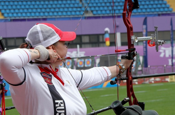 Vinogradova tops women's compound rankings as Archery World Cup season begins