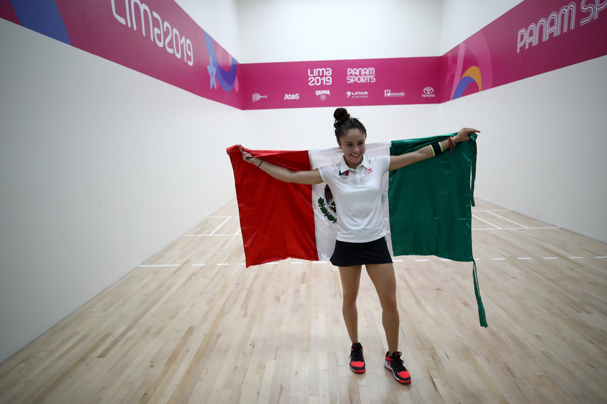 Mexican racquetball star Longoria earns third consecutive Pan American Games singles title
