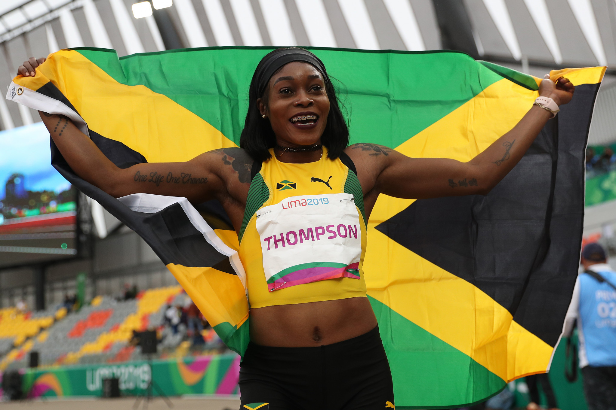 Sprint stars shine and glass shatters at Lima 2019