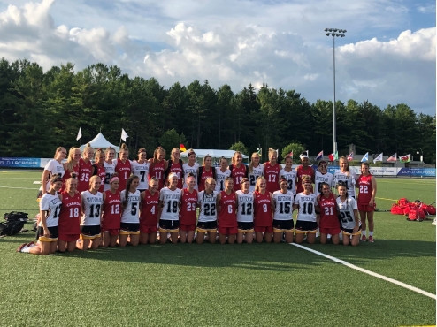 Canada and United States claim massive quarter-final wins at Women's Under-19 World Lacrosse Championships