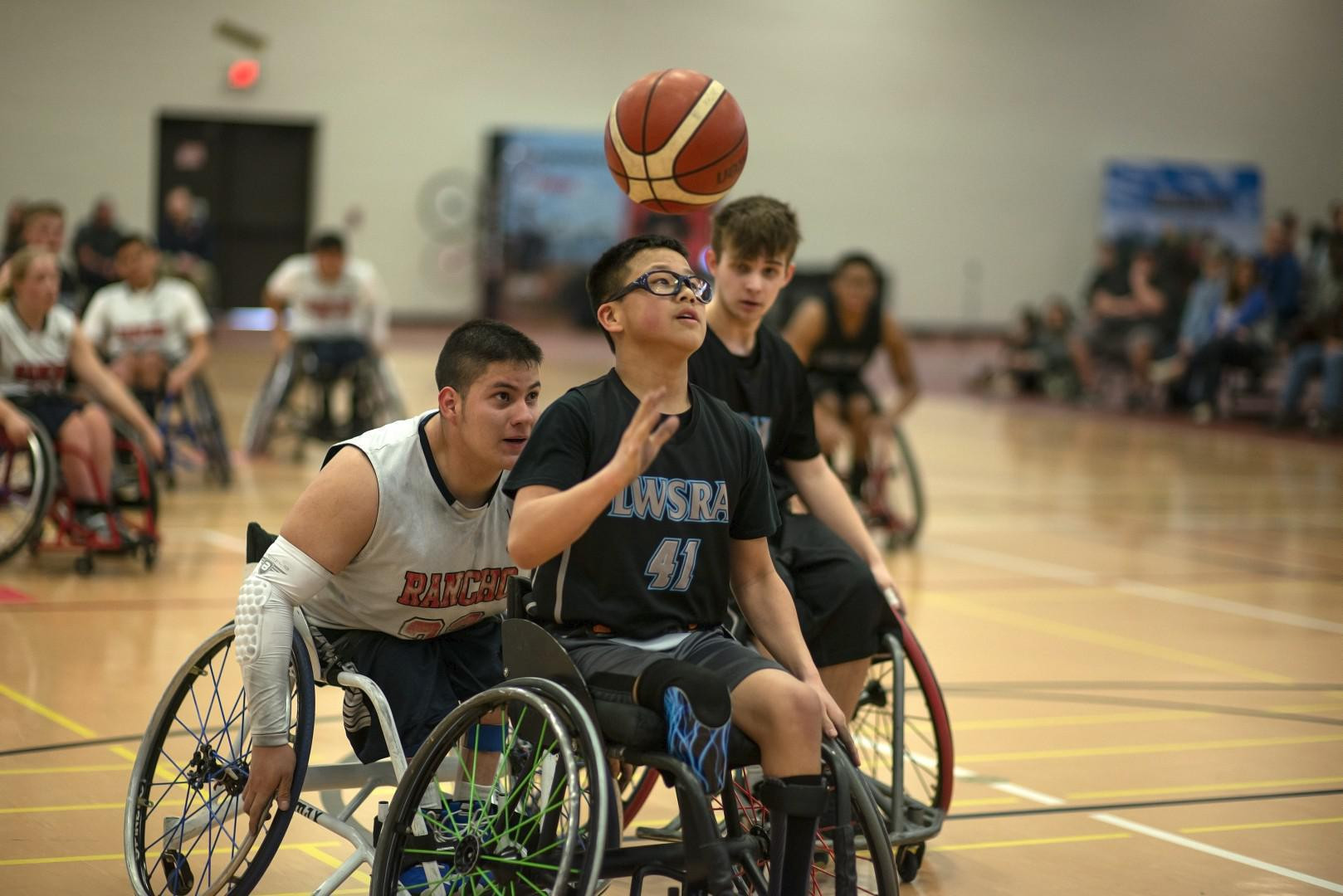 The NWBA is the governing body for wheelchair basketball in the United States ©NWBA