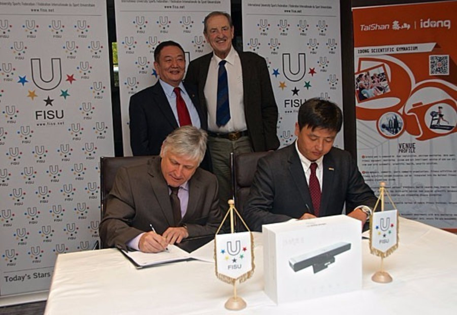 FISU signed the agreement ahead of their General Assembly