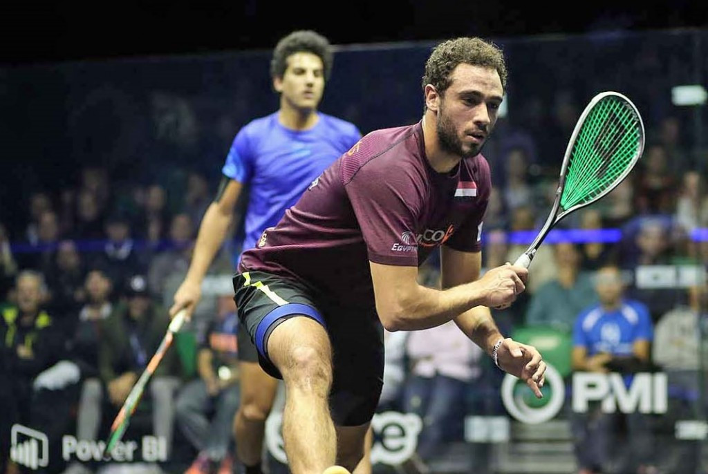 Defending champion Ramy Ashour is through to the second round of the PSA Men's World Championship ©squashpics