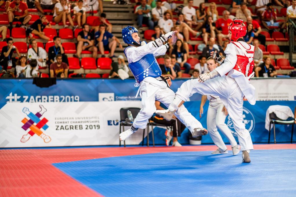 Taekwondo was one of the four sports on the programme ©EUSA