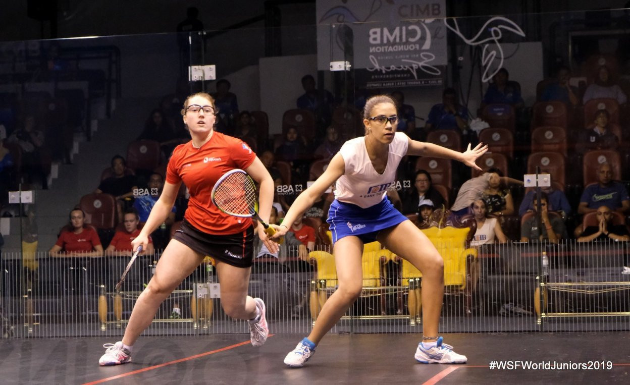 Top seeds Egypt and Malaysia to meet in World Junior Team Squash Championship final