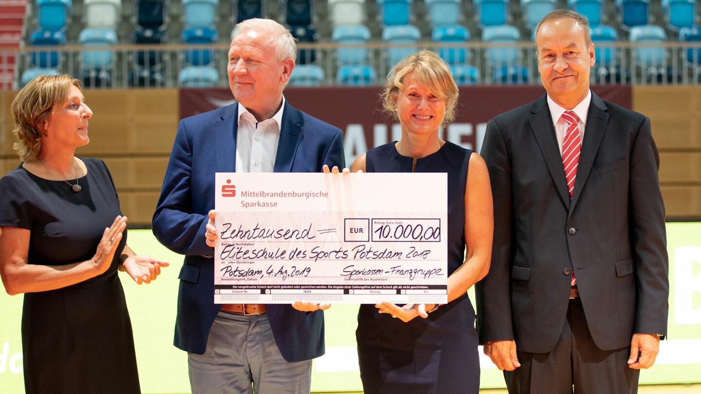 Sportschule Potsdam has been awarded the title of elite school of sport ©Sportschule Potsdam