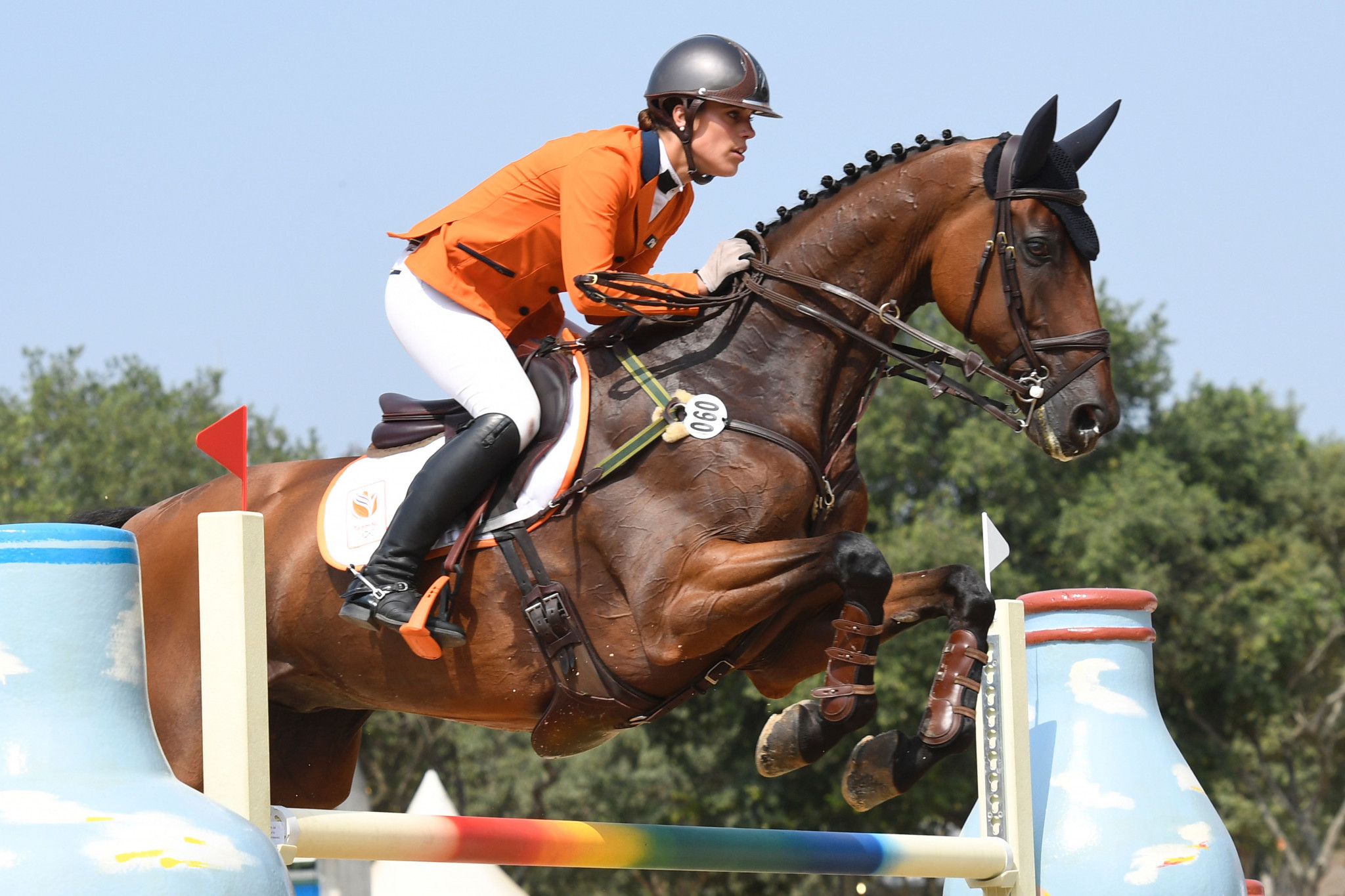 The Netherlands are second in the rankings thanks to the performance of Merel Blom ©Getty Images
